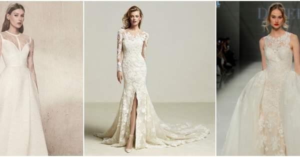 2aa920979e Suknie ślubne z koronką  eleganckie projekty na ten szczególny dzień!