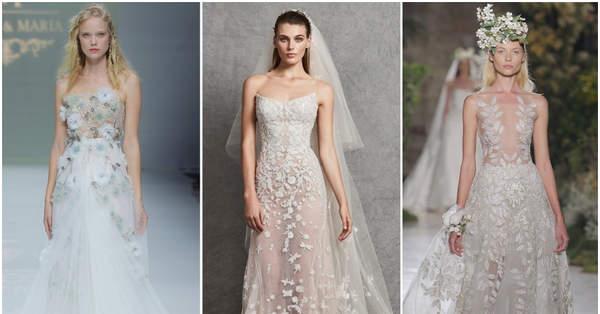 245a9dc6487 40 robes de mariée pour petite poitrine  les modèles qui mettront en valeur  votre silhouette !