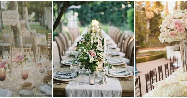 a9f360e33f6 30 ideas para decorar las mesas del banquete en 2016, ¡toma nota!
