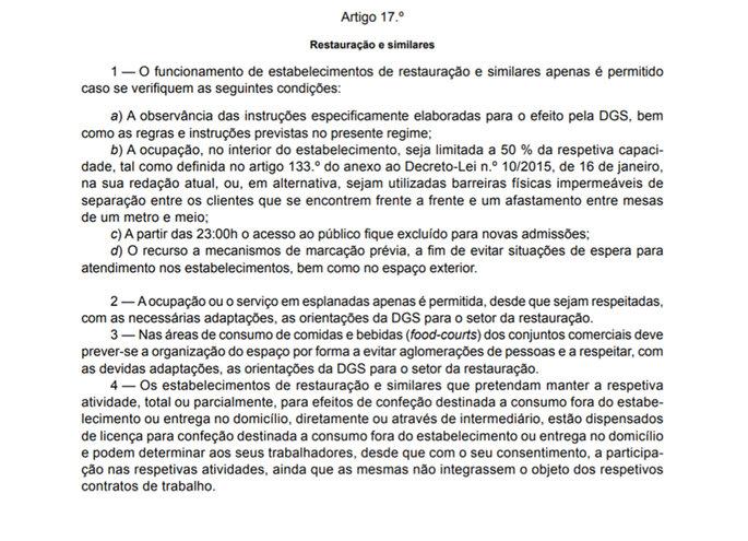 DGS - regras Covid-19