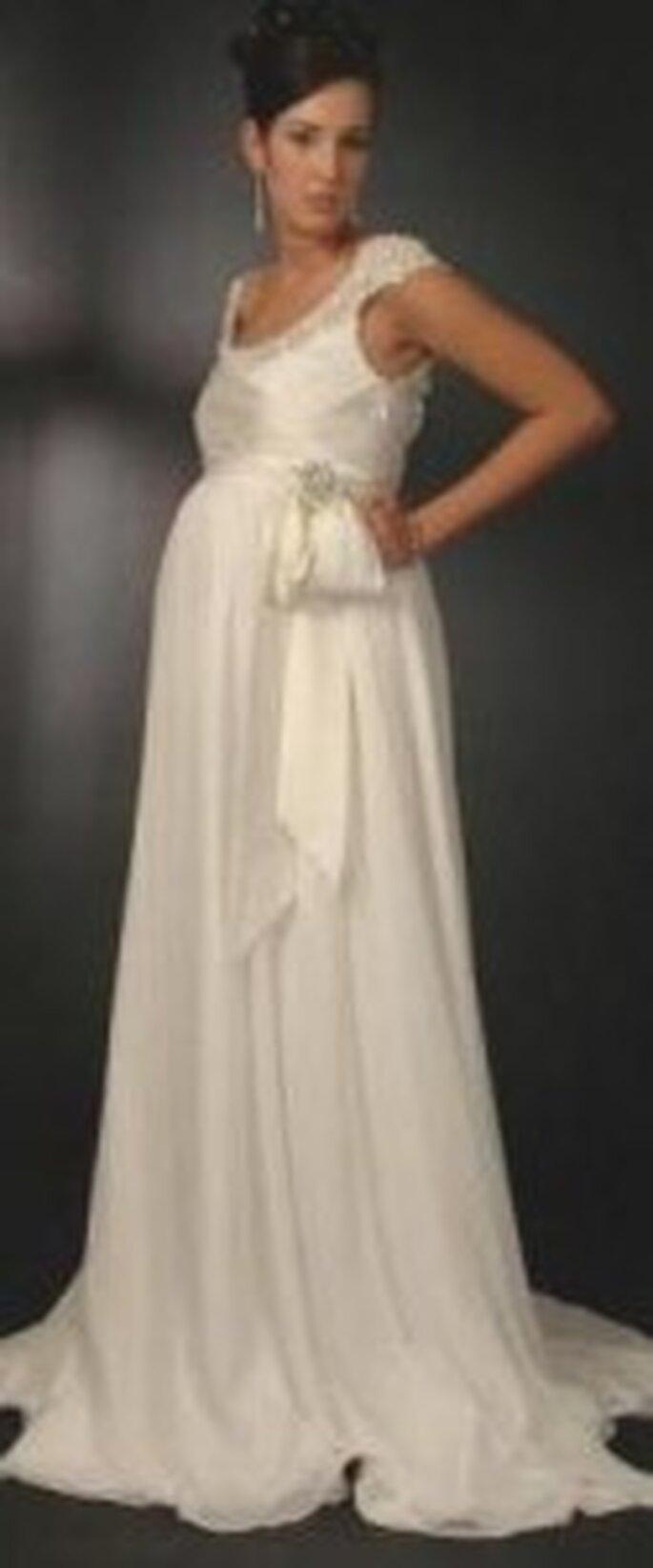 Vestidos de novia para embarazadas en monterrey