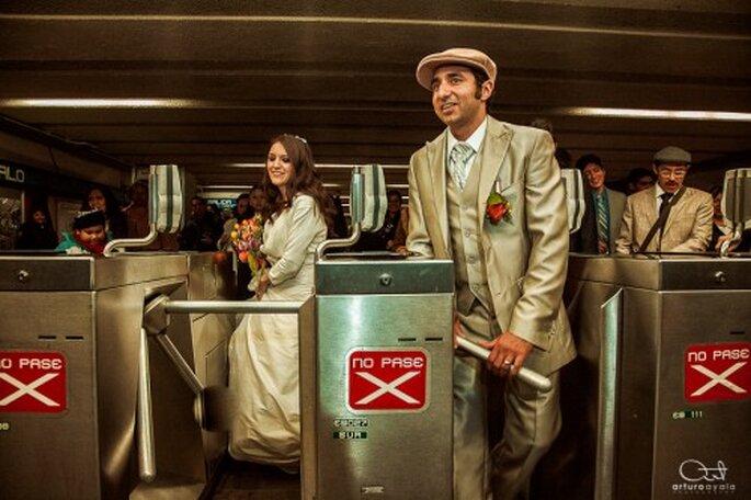 Un fotógrafo de bodas profesional hará de tu boda todo un sueño - Foto Arturo Ayala