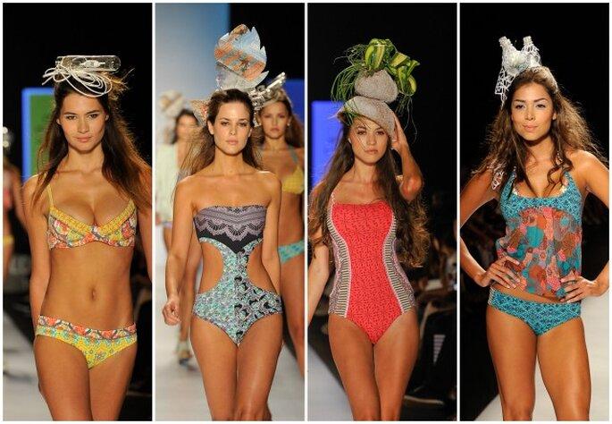 Frescura, comodidad y belleza: ¡los diseños de Maaji Swimwear lo tienen todo! Foto: Colombiamoda 2012