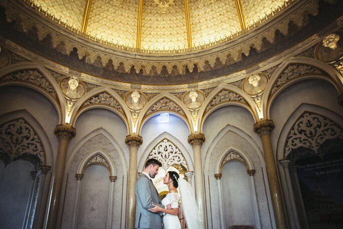 Palácio de Monserrat. Foto: Aguiam Wedding Photography