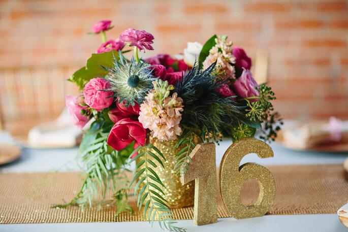 Una boda preciosa en rosa y dorado - Sara & Rocky Photography