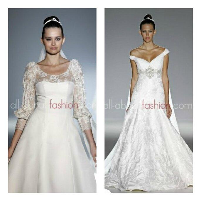 Robes de mariée Franc Sarabia 2013 - Photo: all-about-fashion.com
