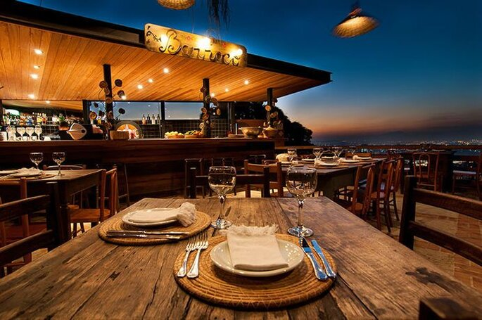 Restaurante Aprazível. Foto: divulgação