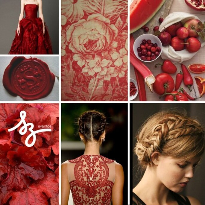 Tintes rojizos y magia para tu boda - Foto Vera Wang, Naeem Khan