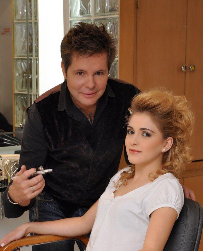 Maquillador Juan Carlos Trujillo