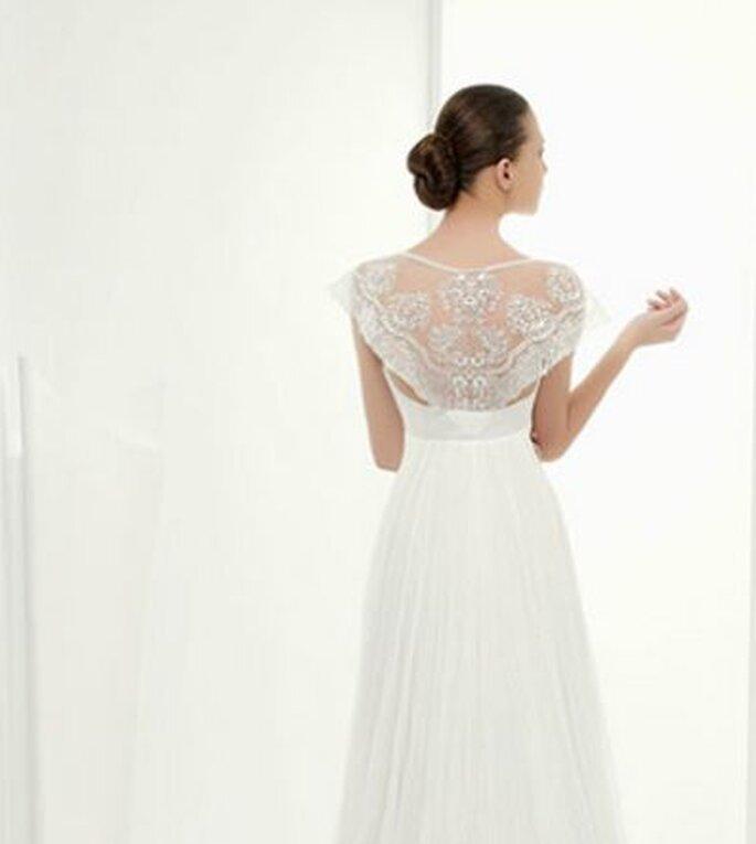 Vestido de novia Clarisa de Miquel Suay 2014 Detalle de la espalda
