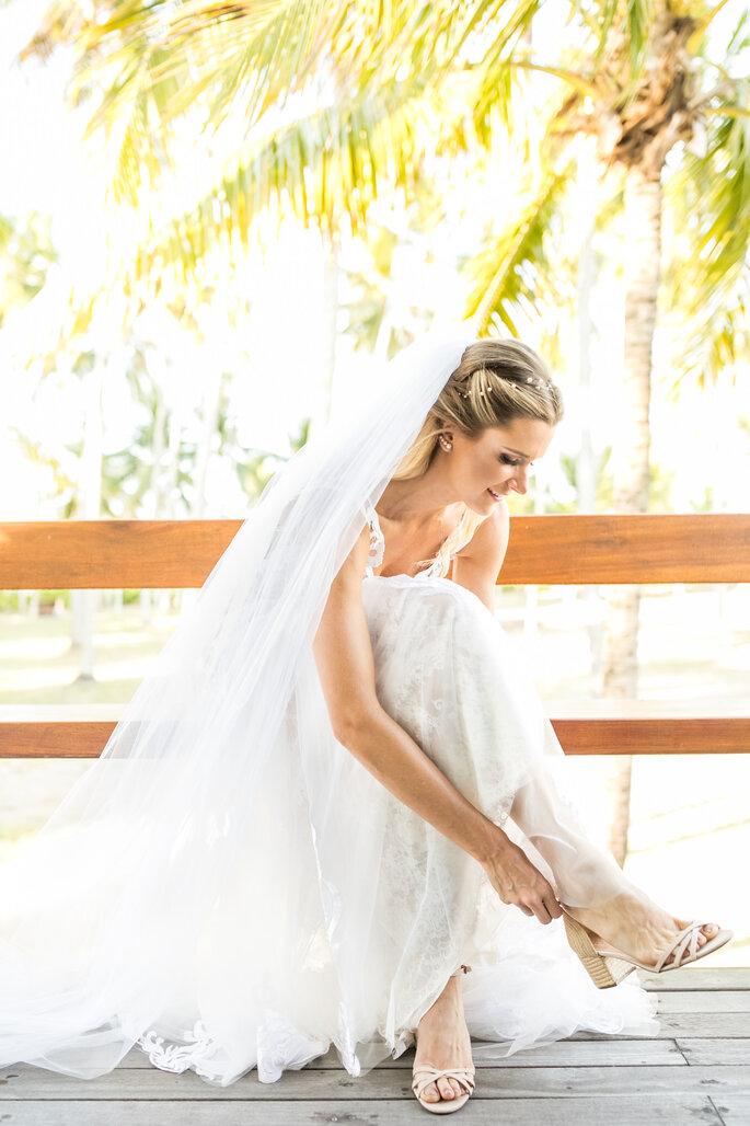 Sapato da noiva: Schutz - Foto: Laura Fonseca