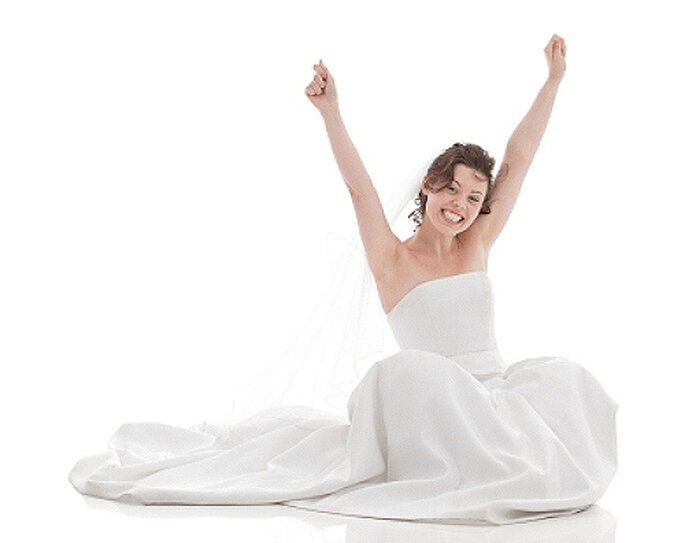 ¿Sabes cómo evitar la sudoración para la boda? Foto: istockimages