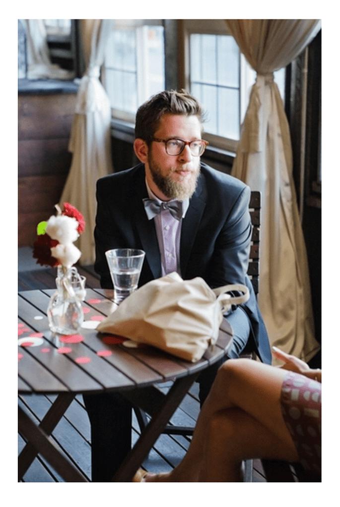 Tendencia hipster para novios 2014 - Foto Abbey Hepner Photography