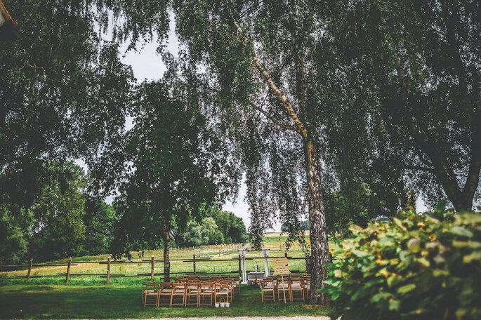Gut Sedlbrunn Open Air-Hochzeit