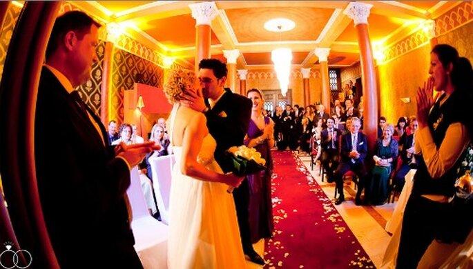 Ein Traum viele Bräute: Heiraten wie eine Prinzessin auf einem Schloss. Foto: Katja Schünemann. www.ks-weddings.de
