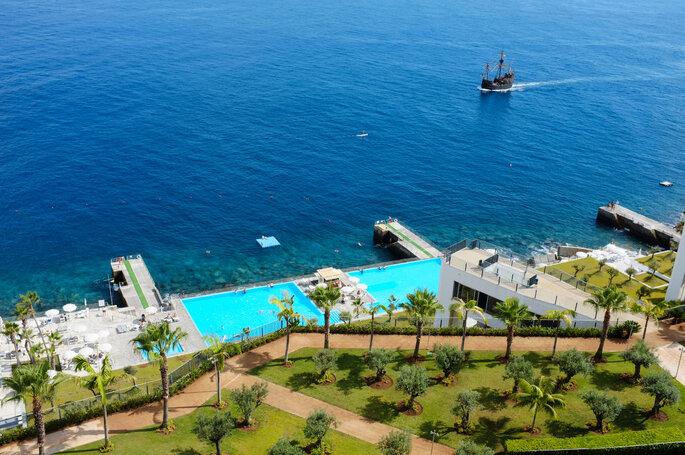 Vista para o Vidamar Resort Madeira