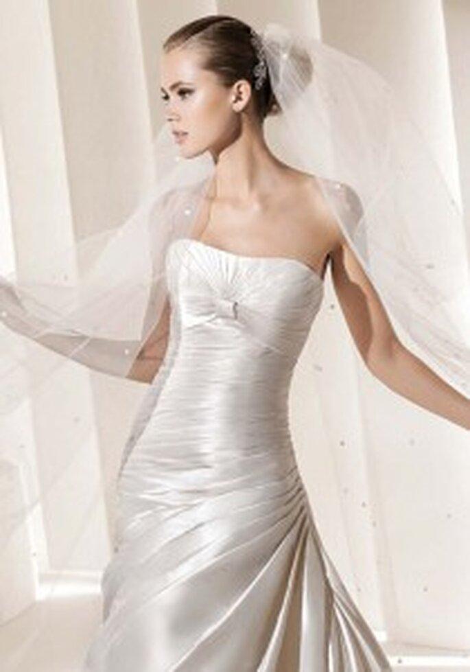 Velos de novia La Sposa 2011-Colección Glam, Modelo Diadema