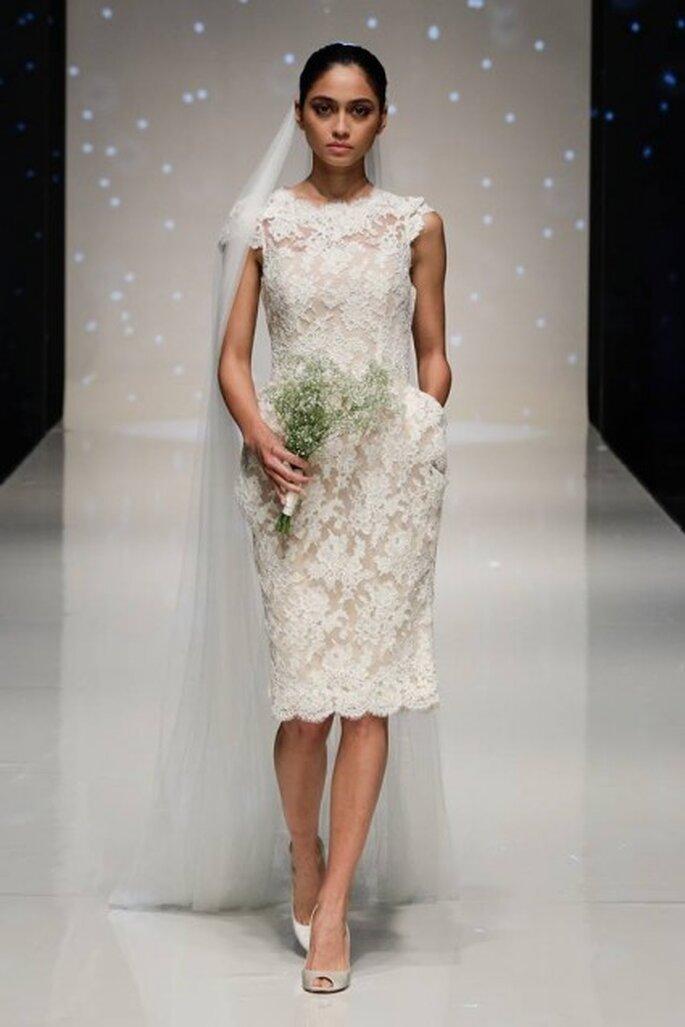 sukienka ślubna z koronki