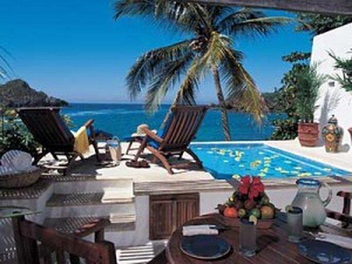 El Careyes Beach Resort en Jalisco, México.