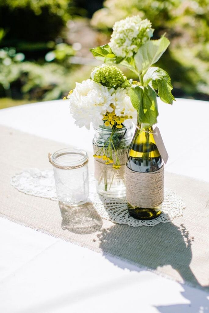 Decoración con vidrio - ClaneGessel Photography