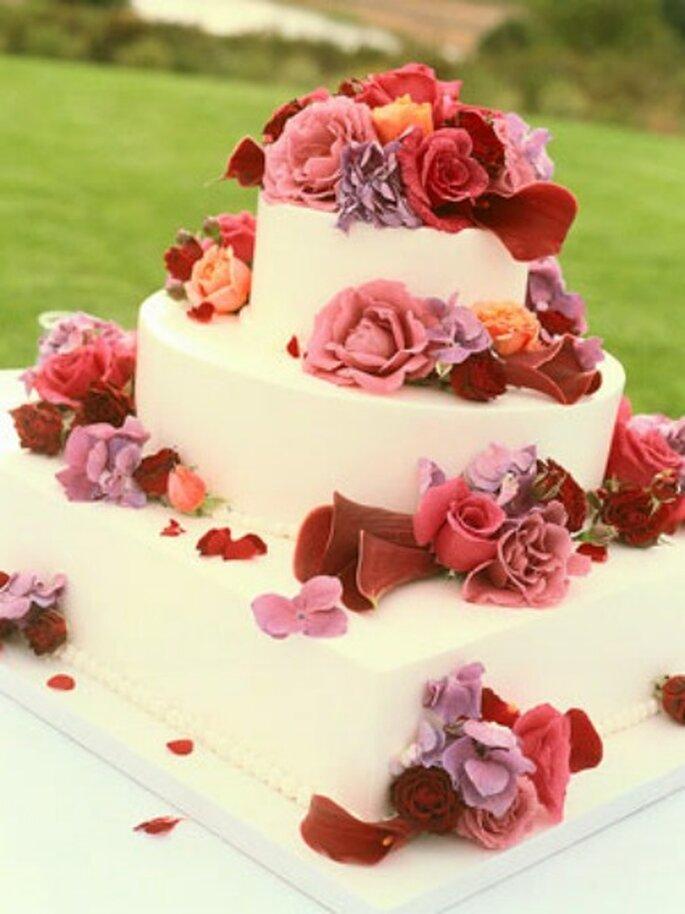 Modelo de torta si la boda es campestre