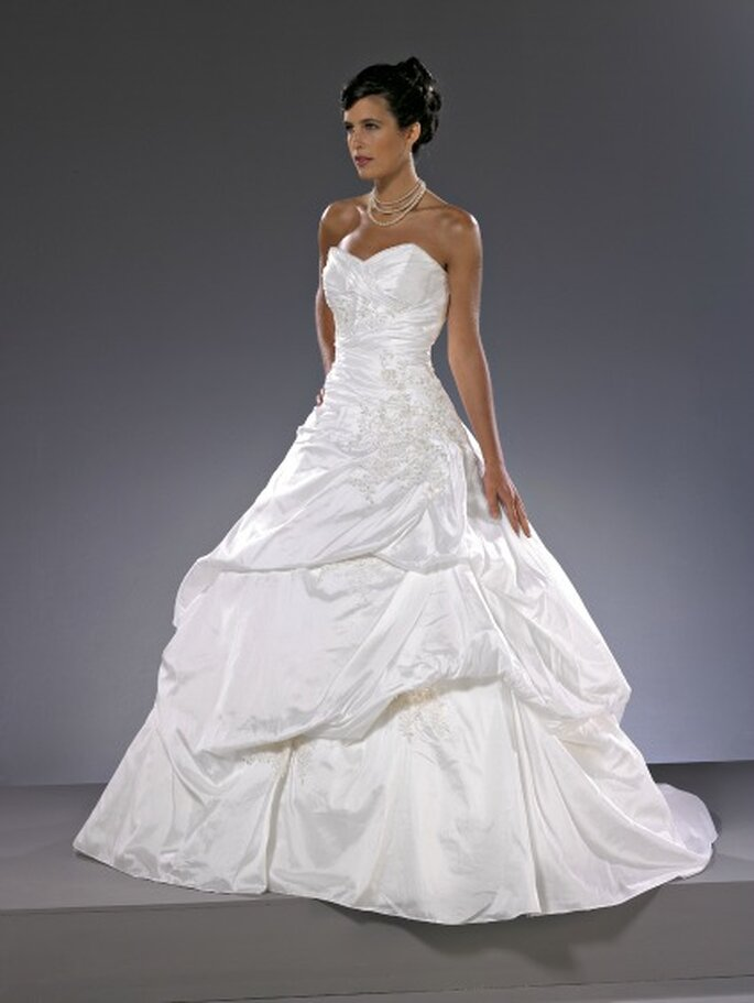 Robe de mariée Christine Couture 2013, modèle Belle