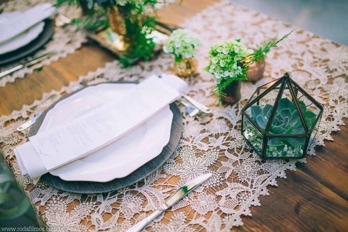 Como escolher as toalhas de mesa do meu casamento em 5 passos