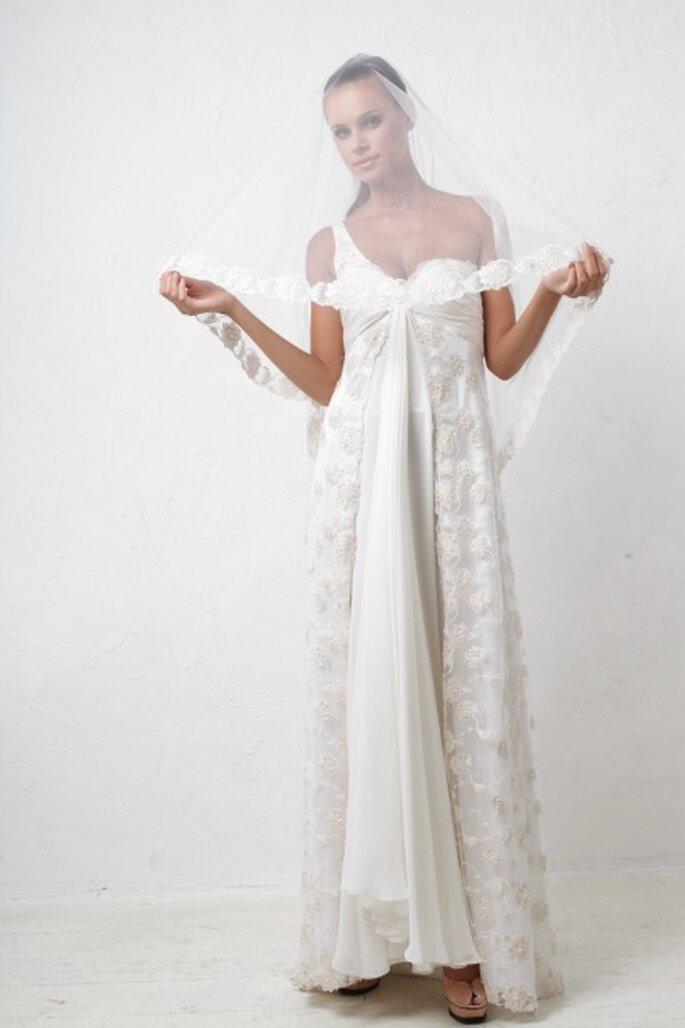 Robe de mariée Veronika Jeanvie - modèle Romance