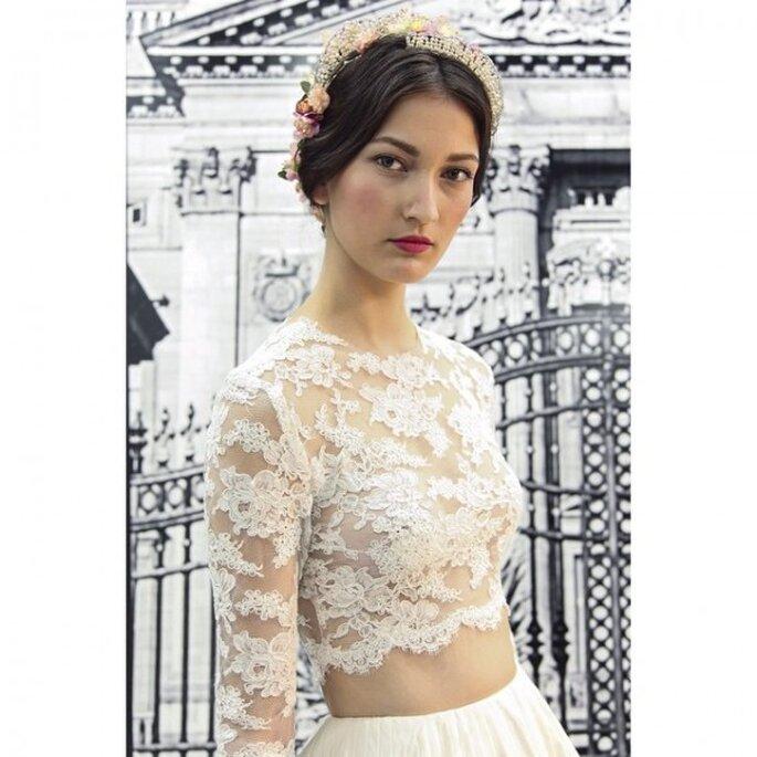 Tendencias en maquillaje de novia 2015 - Foto Reem Acra