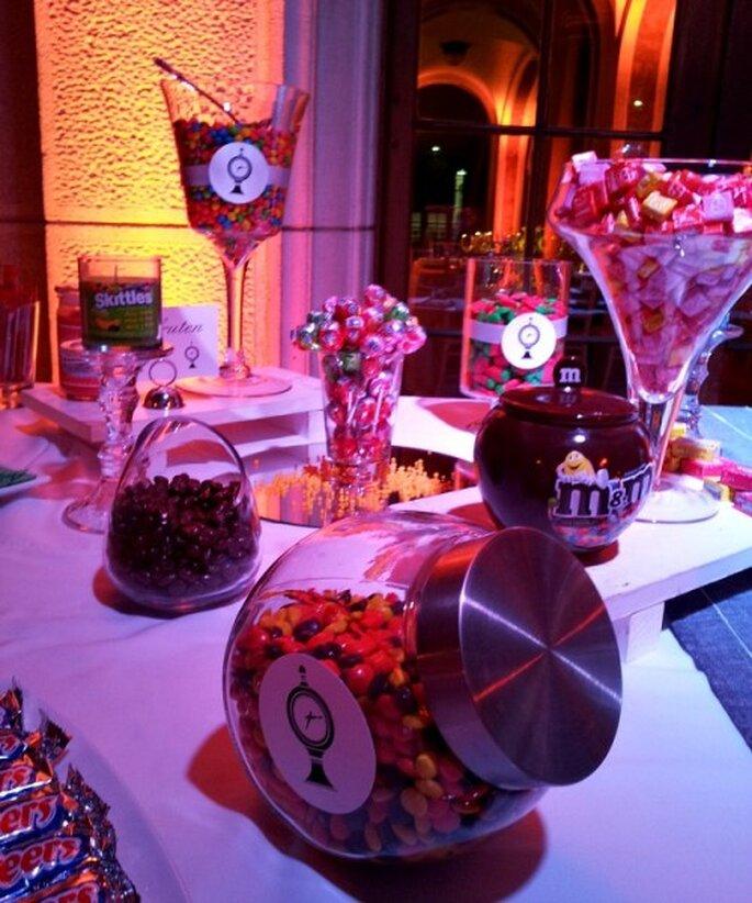 Adorna tu matrimonio con un original candy bar