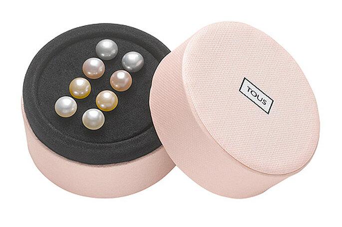 Juego de perlas en varios colores. Foto: TOUS