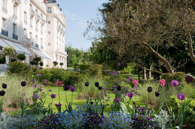 Jardins trianon versailles mariage