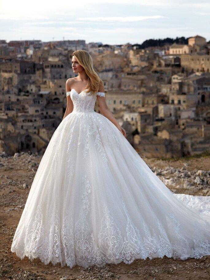 CENTRO SPOSI PRESTIGE - gonna ampia abito da sposa