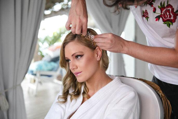 Maquiagem natural para a noiva