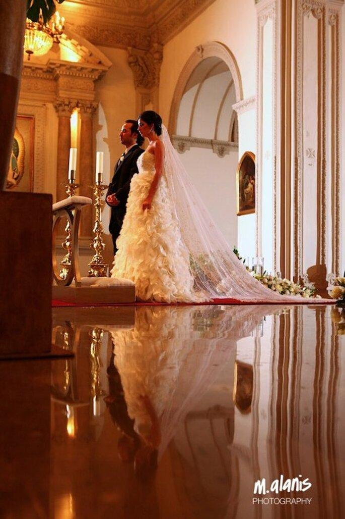 Olvídate de los obstáculos y disfruta todo lo bueno de tu boda - Foto Mauricio Alanis