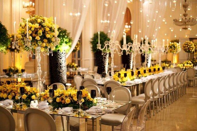 decorazione di nozze classica