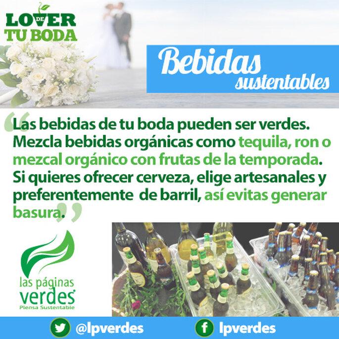 Bebidas sustentables para una boda ecológica en 2013 - Foto Lás Páginas Verdes