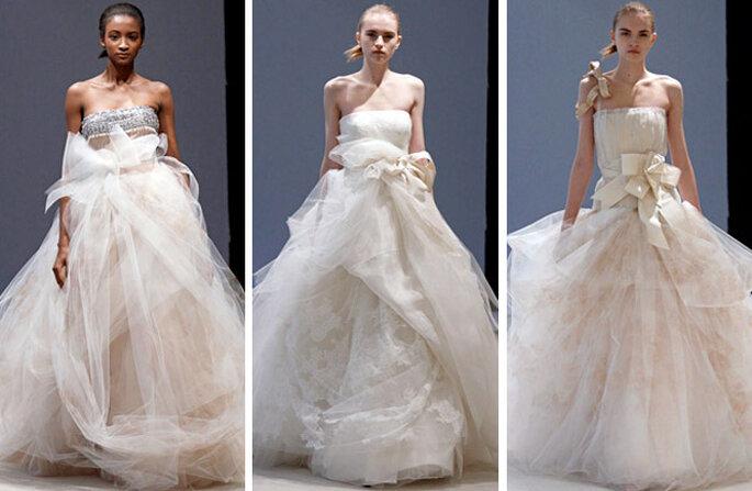Novias sofisticadas y lindas de Vera Wang