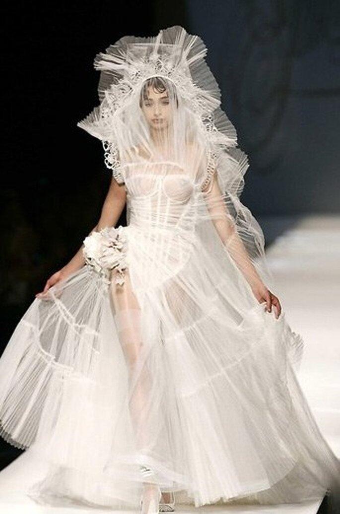 A bito da sposa Gaultier - Nuvola