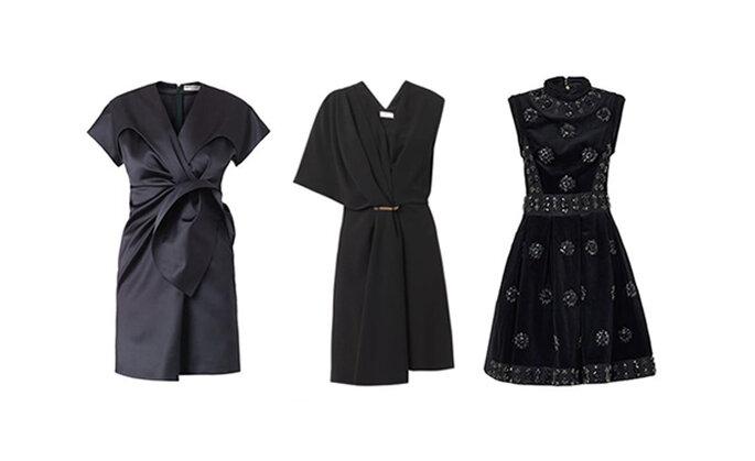 Evergreen l'abito nero: ecco modelli di Balenciaga e Erdem