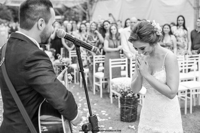 Agradecimento noiva