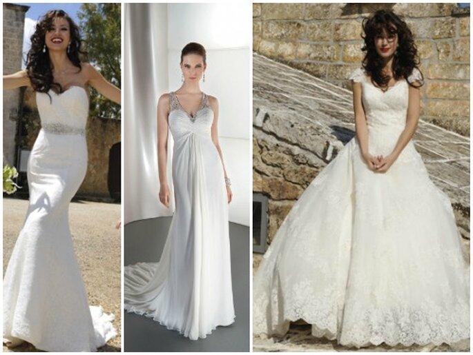 Ad ogni sposa il suo stile,ad ogni donna un abito Demetrios! Demetrios 2013 Bridal Collection. Foto: www.demetriosbride.com