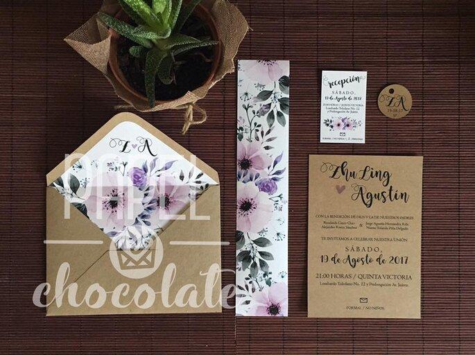 Papel Chocolate