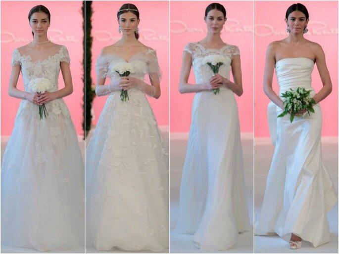 Oscar de la Renta, collection de robes de mariée 2015. Photo: réseaux sociaux