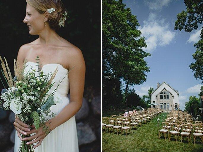 Свадьба у озера - Фото Ray + Kelly