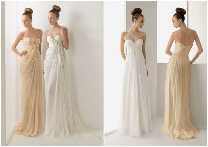 Vestidos de novia Rosa Clara 2012