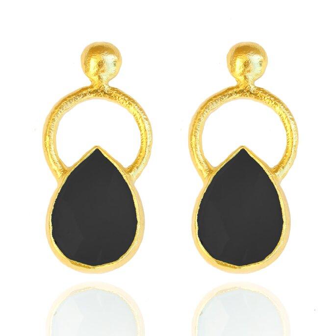 Pendientes Ankara negro, Lavani Jewels.