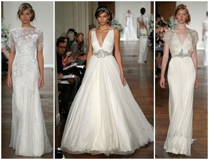 10b30cb9f889 Abiti da sposa. Salvare Jenny Packham Fall 2013 Bridal Collection. Foto   www.jennypackham.com