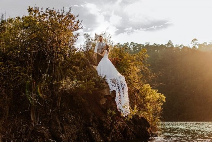 #MartesDeBodas: todo sobre tu sesión de fotos Trash the Dress - Foto Abimelec Olan