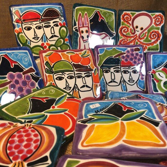 Maninterra Ceramica di Laura La greca - sottopentola ceramica